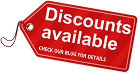 Discounts available - check our blog